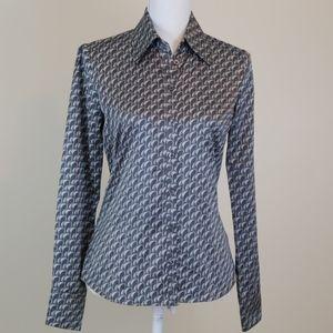 Like NEW!! H&M satin button down shirt